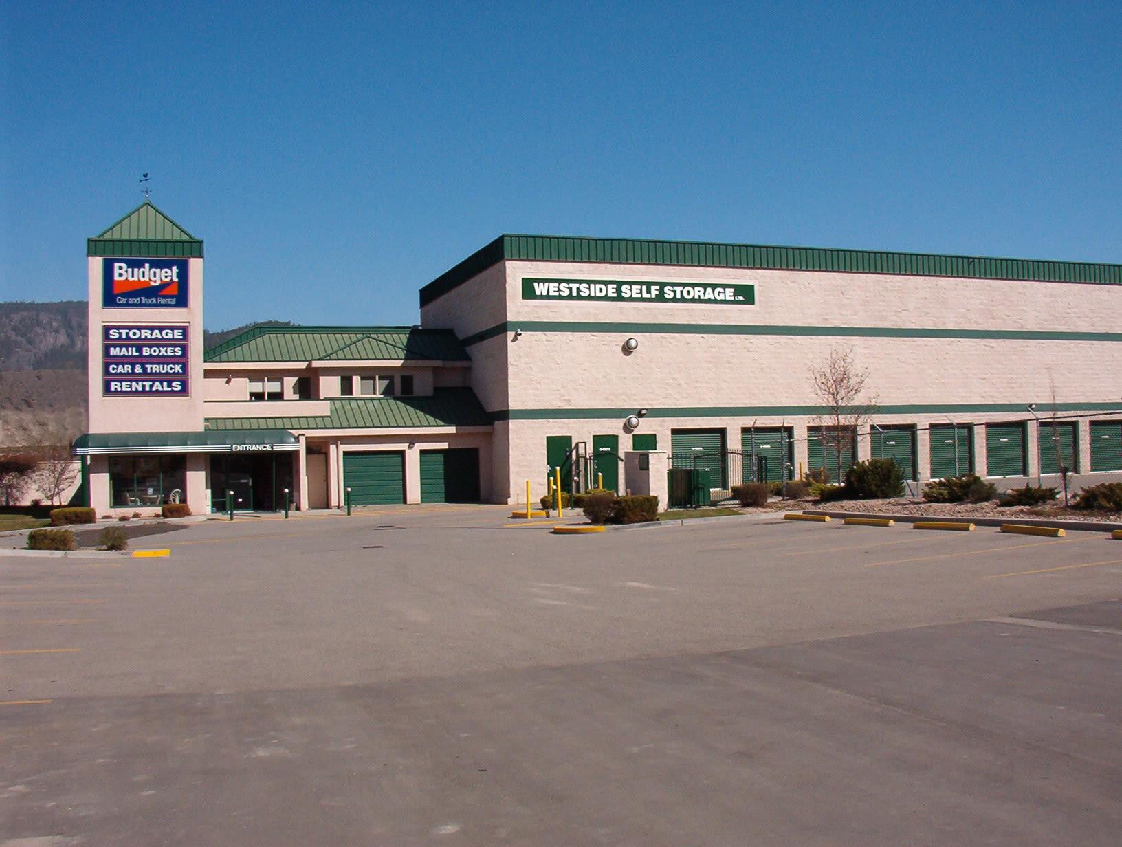 Features offered at Westside Self Storage in Kelowna