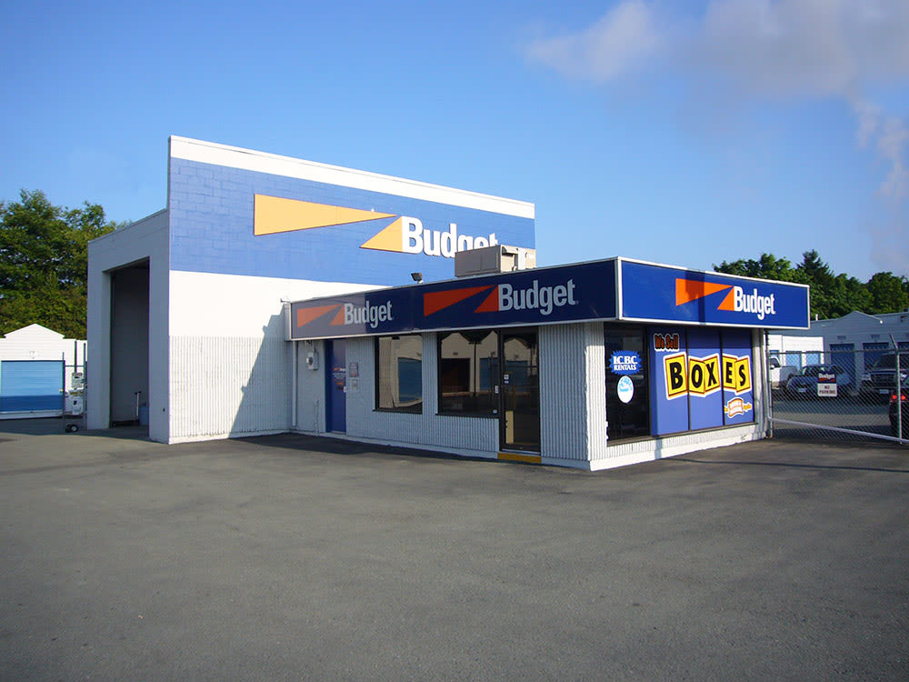 Exterior photo of Budget Self Storage