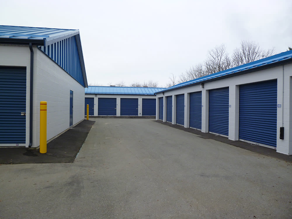 Exterior storage at Budget Self Storage