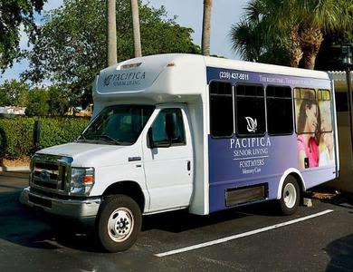 Transportation in Pacifica Senior Living Fort Myers