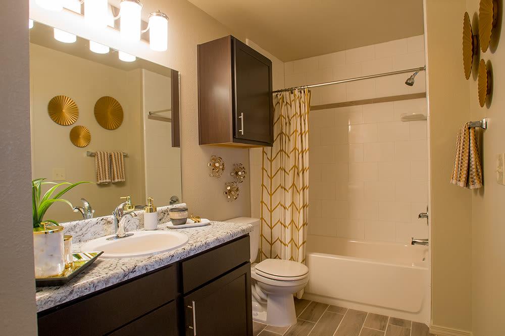 Bedroom at apartments in Hewitt, TX