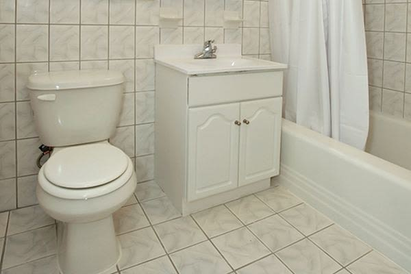 Beautiful bathroom at Short Hills Village Apartment Homes in Short Hills, NJ