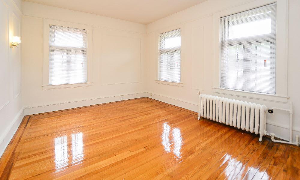 Enjoy beautiful hardwood floors at St. Lukes Place Apartment Homes