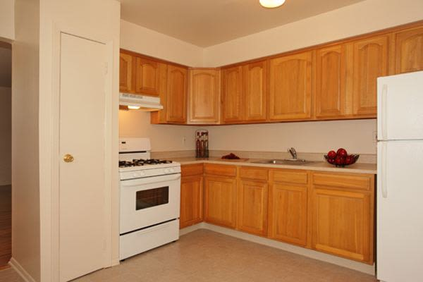 Kitchen at Apartments in Piscataway, New Jersey