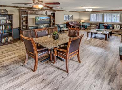 A place to share with people in Pacifica Senior Living Woodmont
