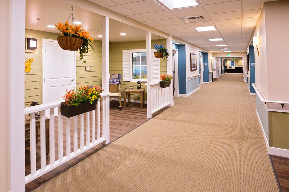 Indoor porch at Mukilteo Memory Care