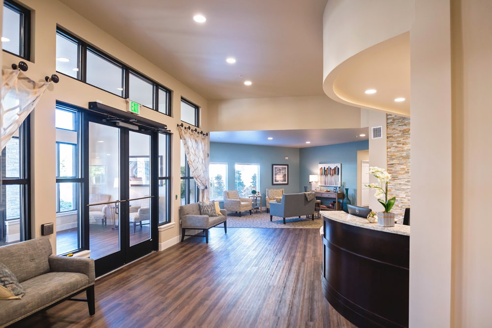Lobby at Mukilteo Memory Care