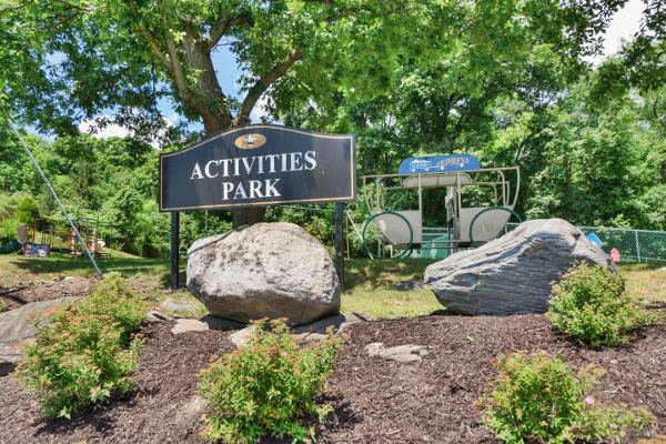 Beautiful activities park at Summit Pointe Apartment Homes in Scranton, PA