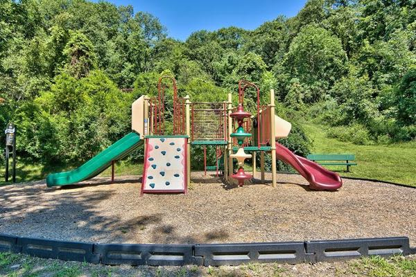 Spacious playground at Summit Pointe Apartment Homes in Scranton, PA