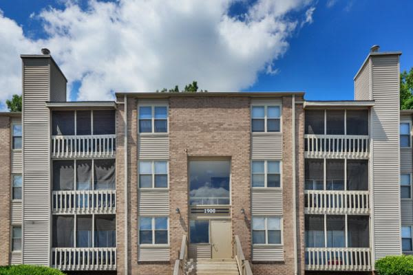 Beautiful apartment building at Summit Pointe Apartment Homes in Scranton, PA