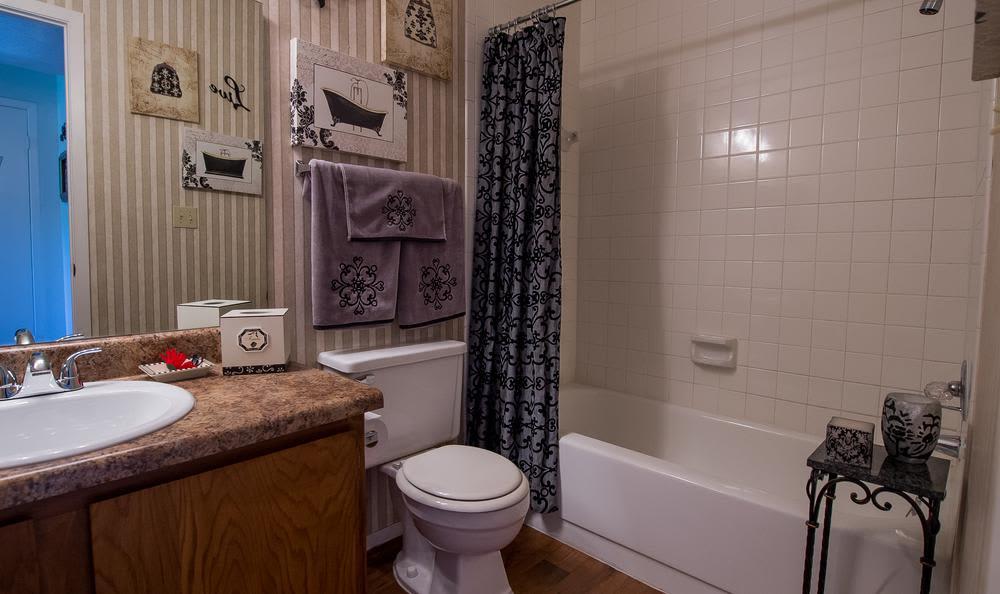 Beautiful Bathroom at Windsail Apartments