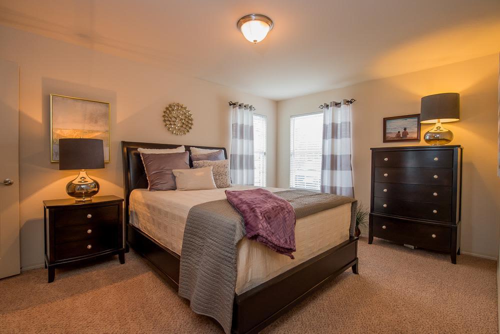Bedroom at Prairie Springs