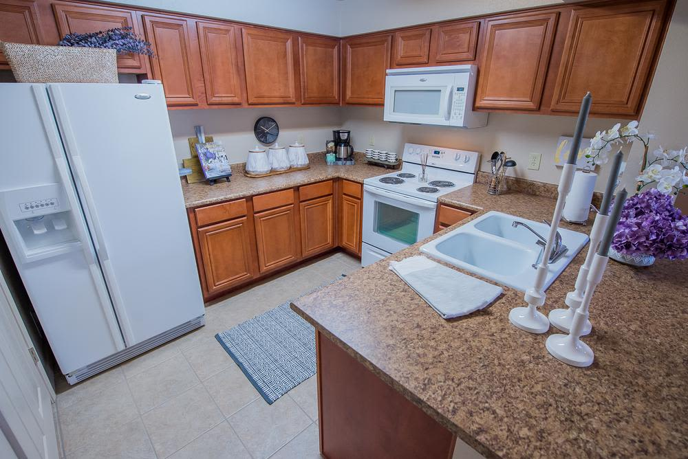 Cook up a great meal in your new kitchen at Prairie Springs