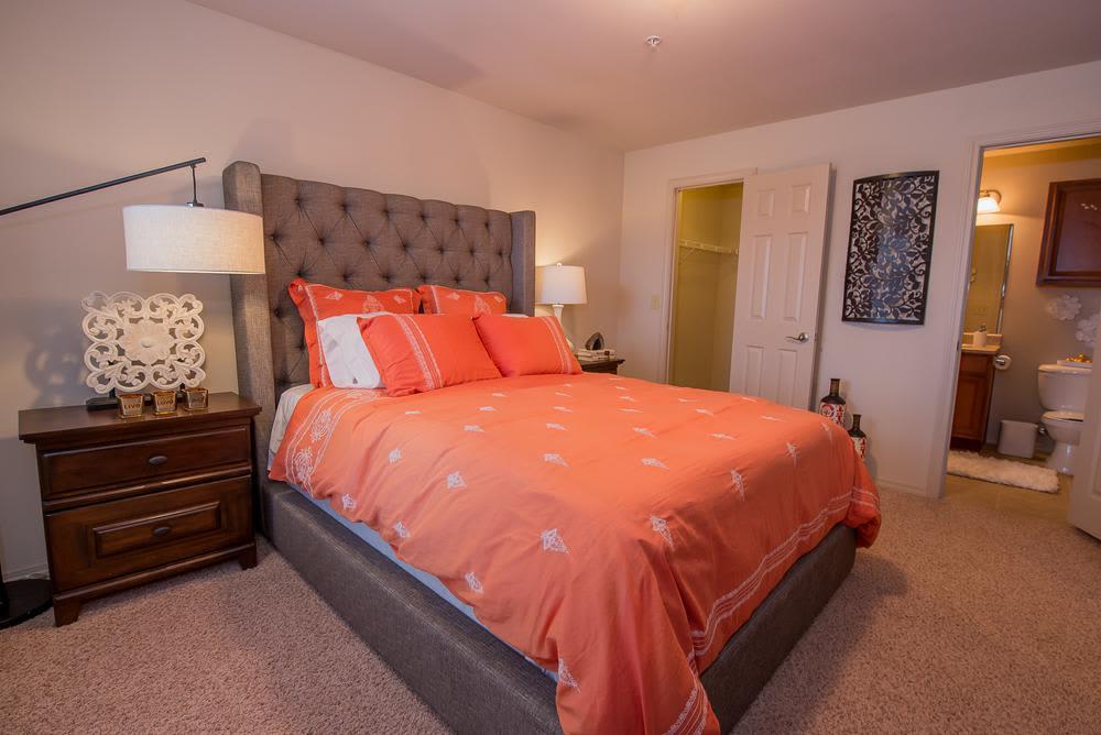 Bedroom at Prairie Springs in Oklahoma City