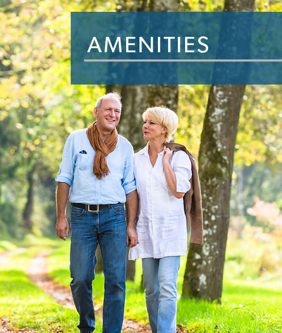amenities at Bishop's View Apartments & Townhomes