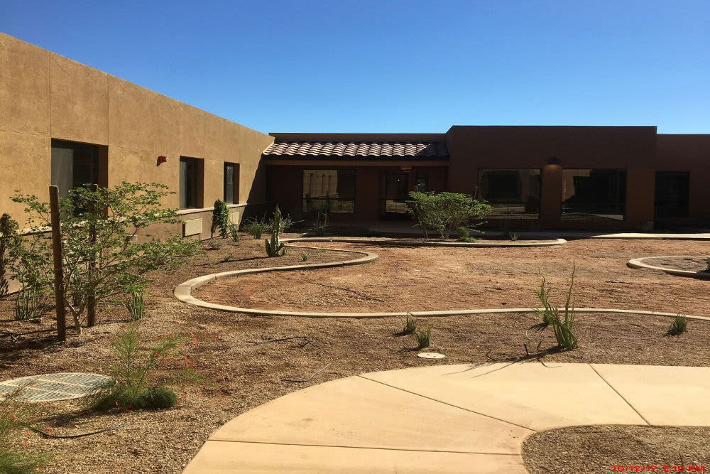 Spacious construction at Lone Mountain Memory Care in Scottsdale, Arizona