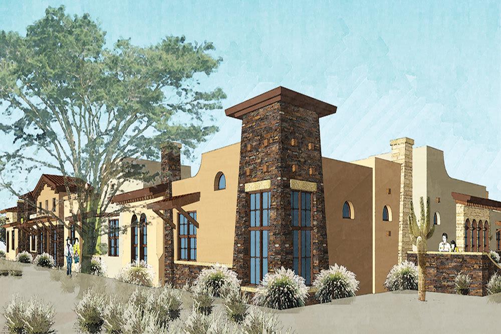 Lone Mountain Memory Care in Construction Progress