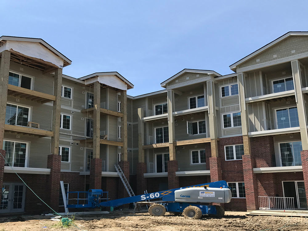 Construction progress in Fishers