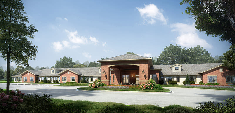 Robinwood Landing Alzheimer's Special Care Center render