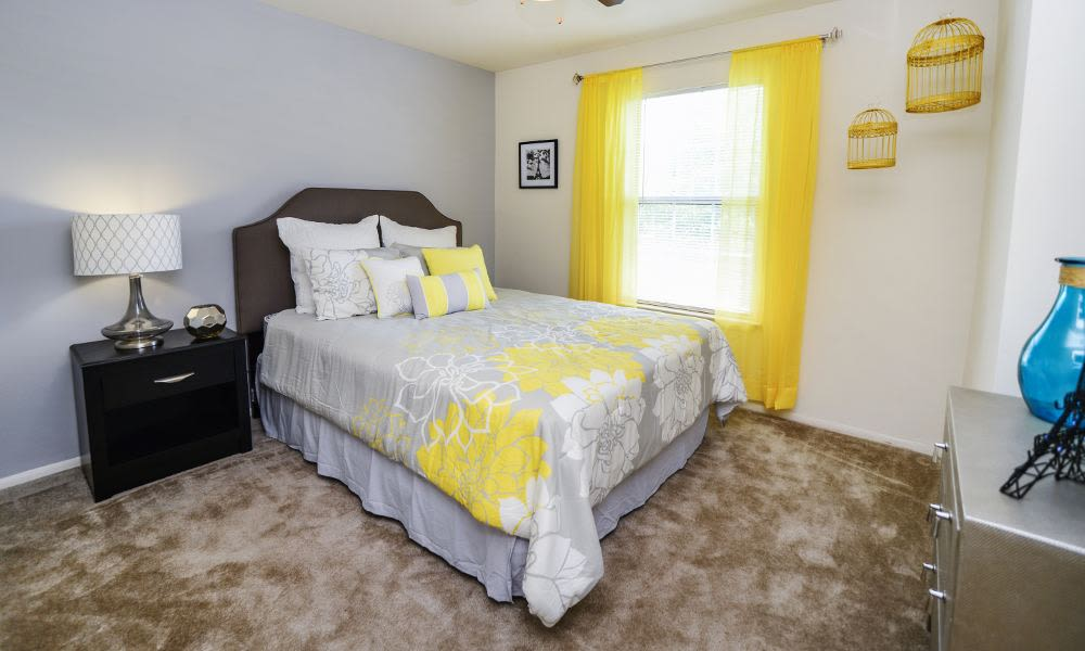 Beautiful bedroom at Fox Run Apartments & Townhomes in Bear, DE