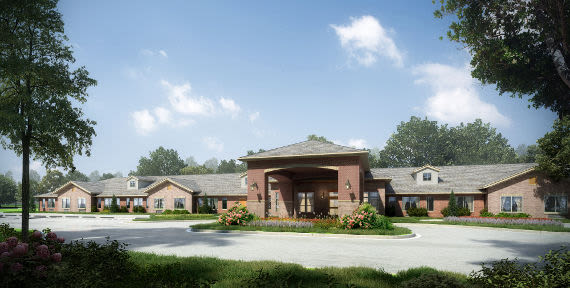 Lakewood Alzheimer's Special Care Center render