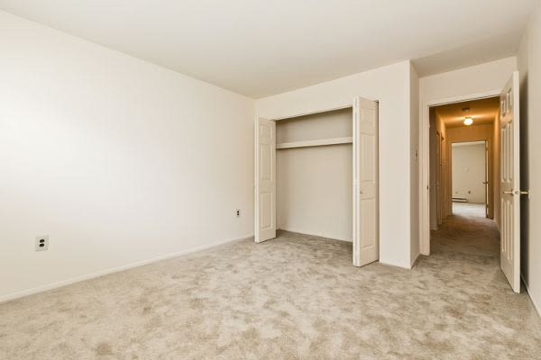 Spacious closets at Lincoln Park Apartments & Townhomes in West Lawn, PA