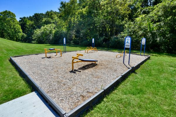 A playground that is great for entertaining at Wedgewood Hills Apartment Homes in Harrisburg, PA