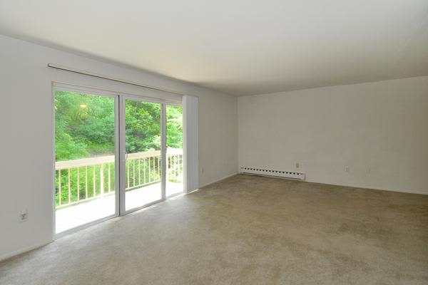 Whitestone Village Apartment Homes offers a spacious living room in Allentown, PA