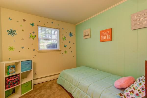 Beautiful bedroom at Woodacres Apartment Homes in Claymont, DE