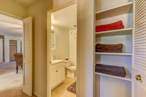Bathroom at Woodacres Apartment Homes in Claymont, DE