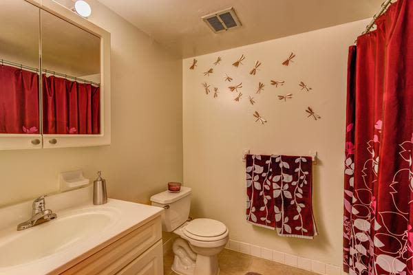 Spacious bathroom at Woodacres Apartment Homes in Claymont, DE
