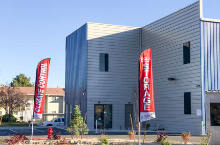 Front of building at StorQuest Self Storage