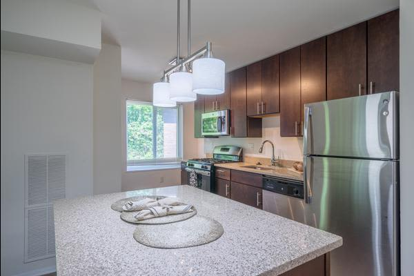 Luxury kitchen at Stoneridge at Mark Center Apartment Homes in Alexandria, VA
