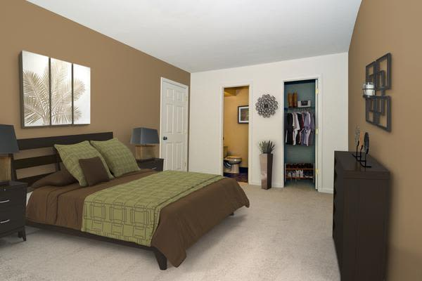 Luxury bedroom at Stoneridge at Mark Center Apartment Homes in Alexandria, VA