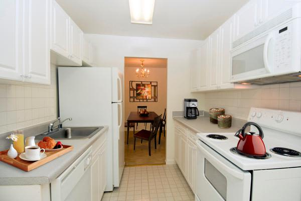 Our apartments in Alexandria, VA showcase a modern kitchen