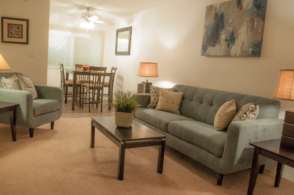 Living Room at The Arbor
