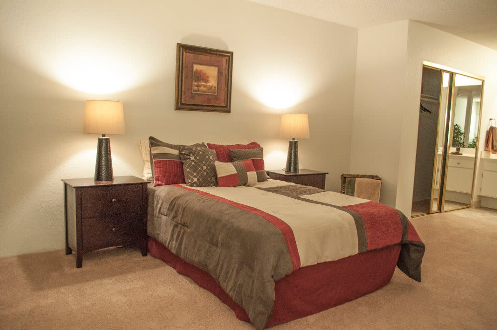 Bedroom at The Arbor