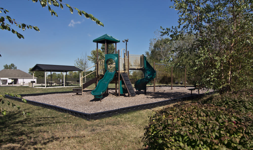 Beautiful playground at The Lakes at 8201 in Merrillville, IN