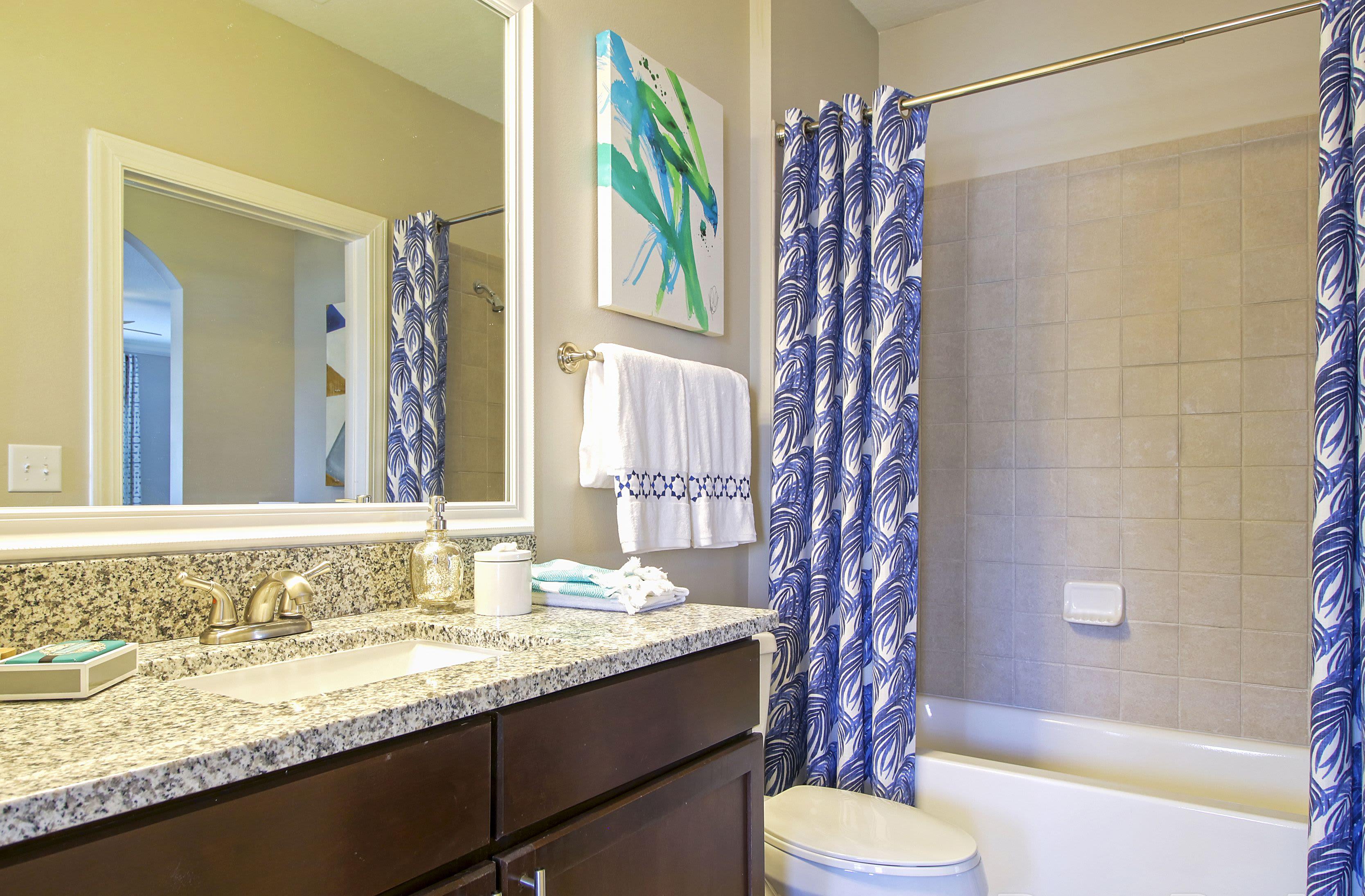 Luxury Bathroom at Highlands Viera West in Melbourne, Florida