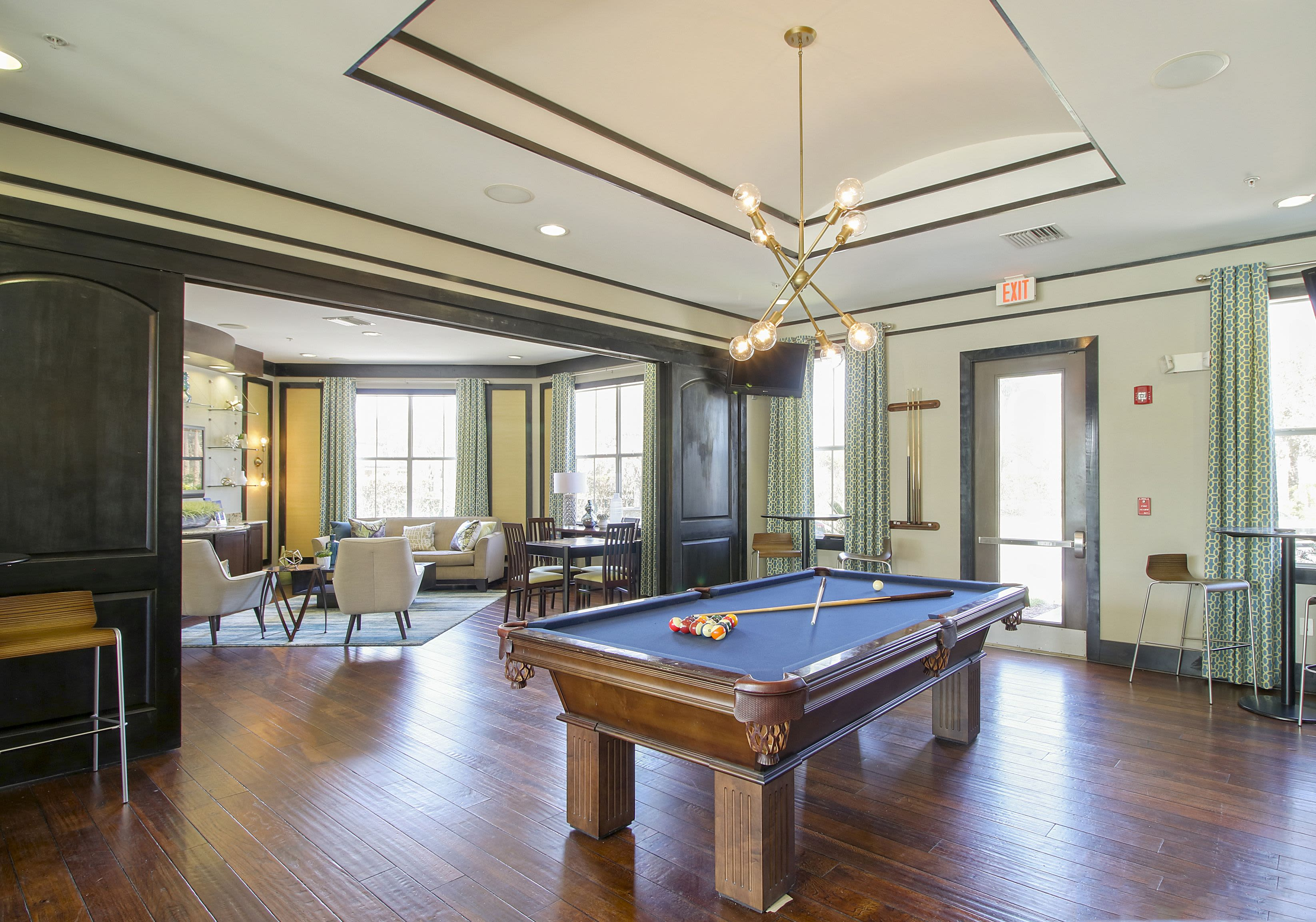 Pool Table at Highlands Viera West in Melbourne, Florida