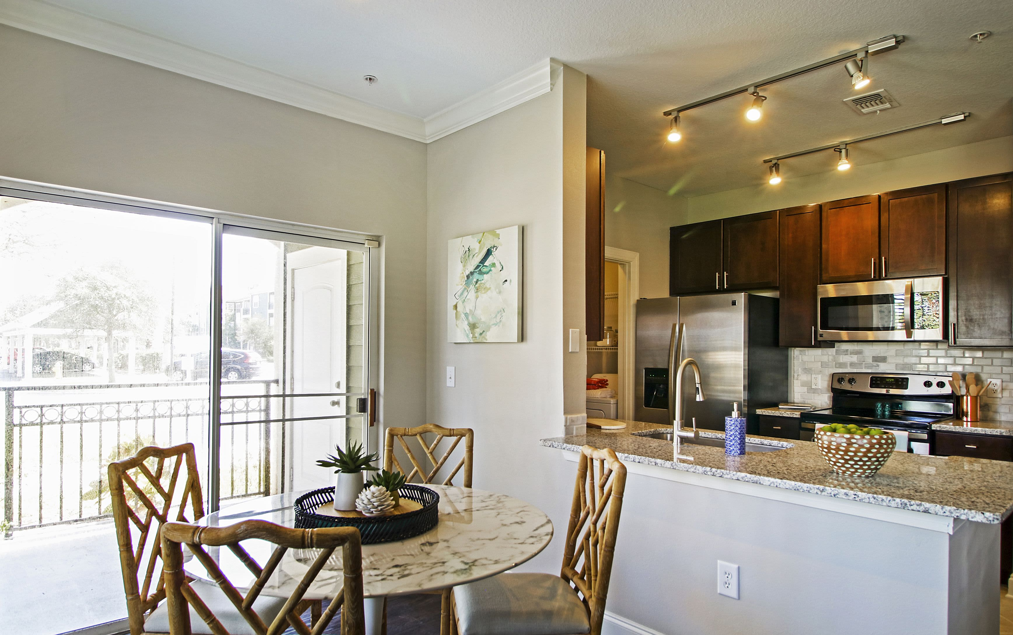 Dining Room at Highlands Viera West in Melbourne, Florida