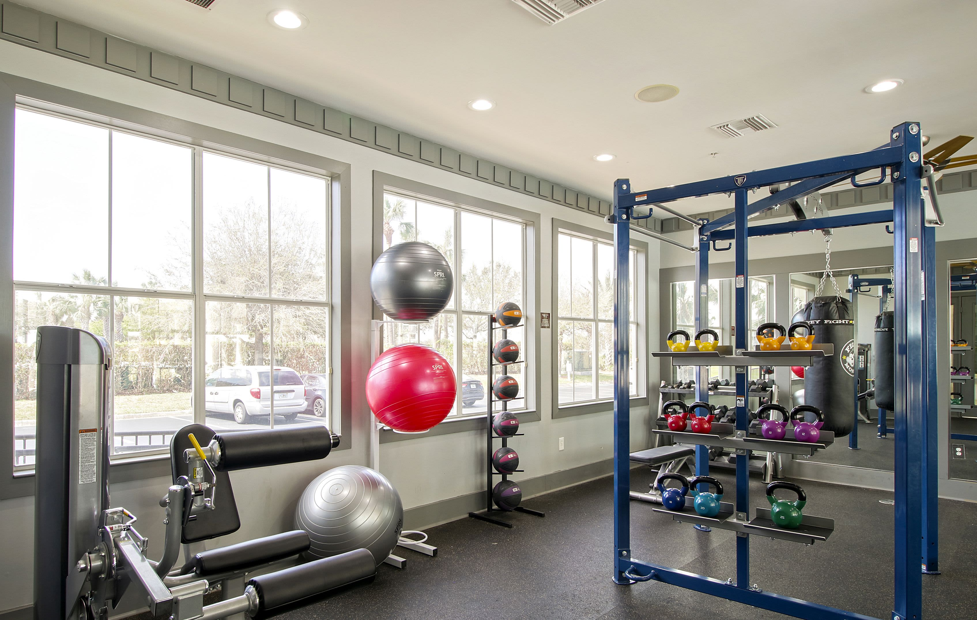Fitness Center at Highlands Viera West in Melbourne, Florida