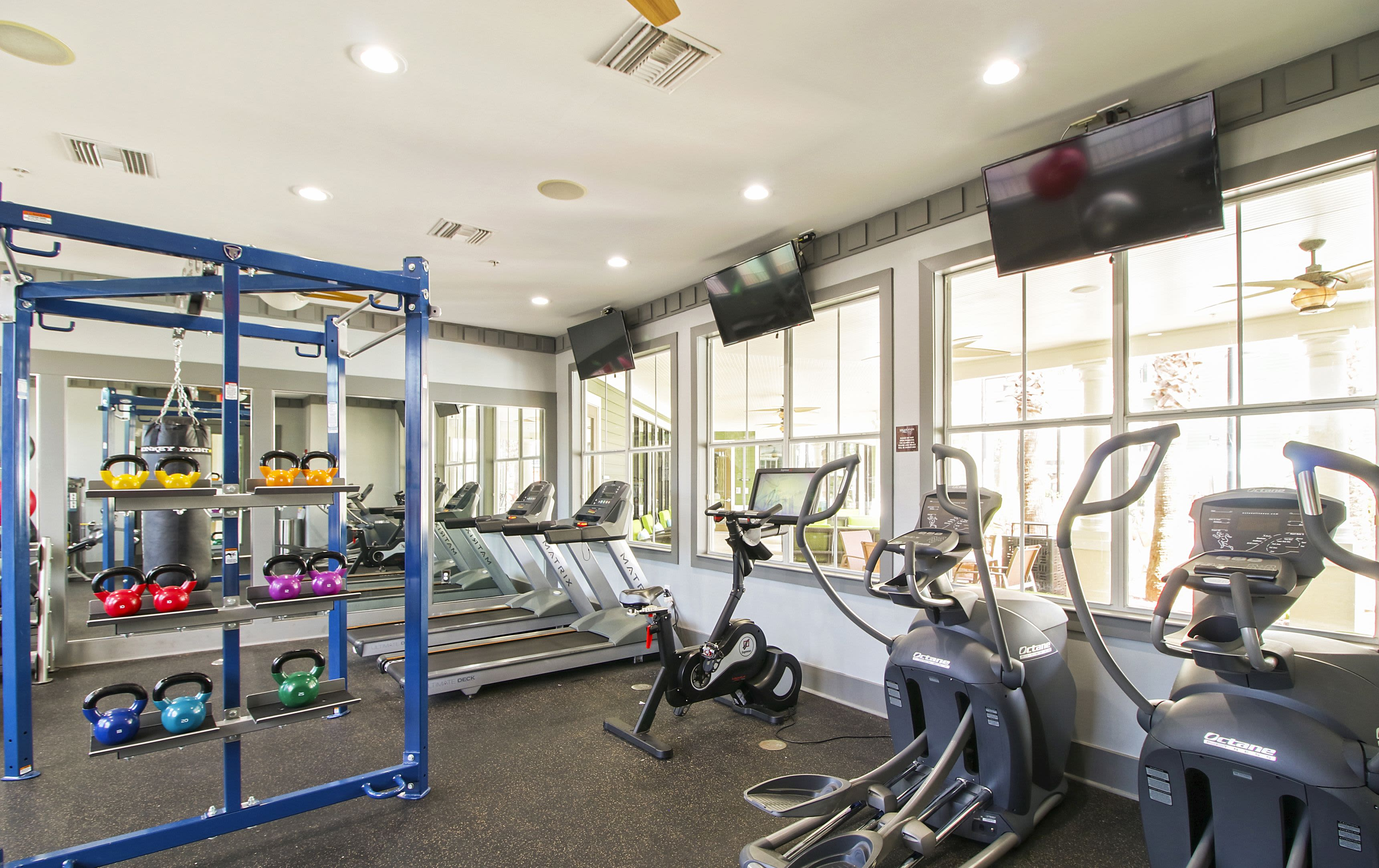 Gym at Highlands Viera West in Melbourne, Florida