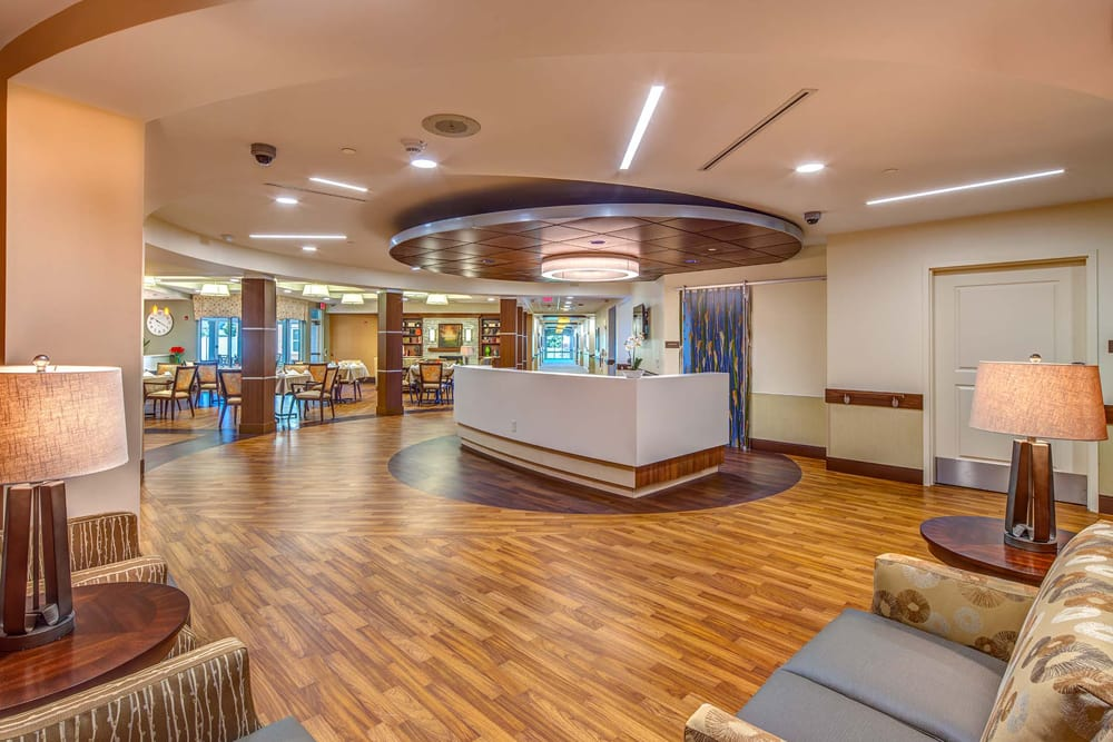 Front lobby at Village Point
