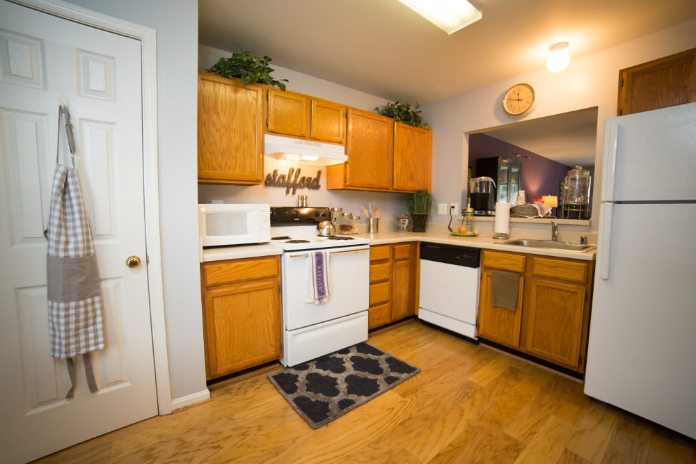 Kitchen at Park Ridge in Stafford, Virginia