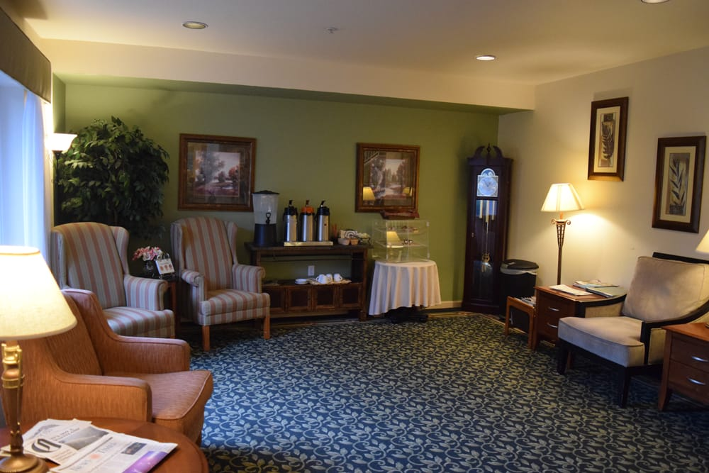 Common area at Oceanview