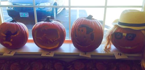 Halloween celebration at Bridgecreek Memory Care
