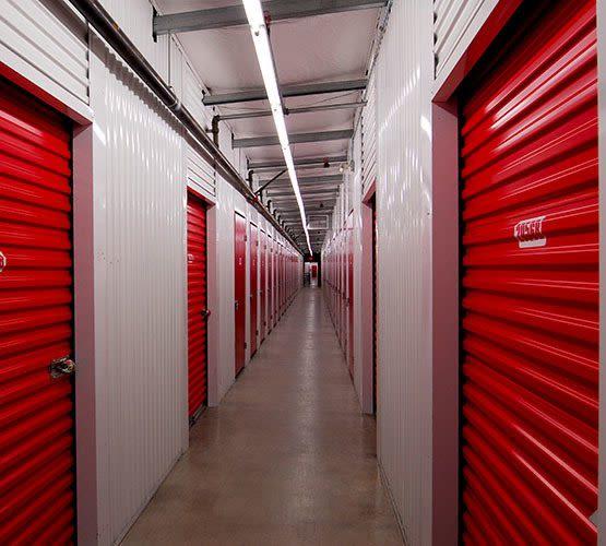Interior Burnaby self storage units