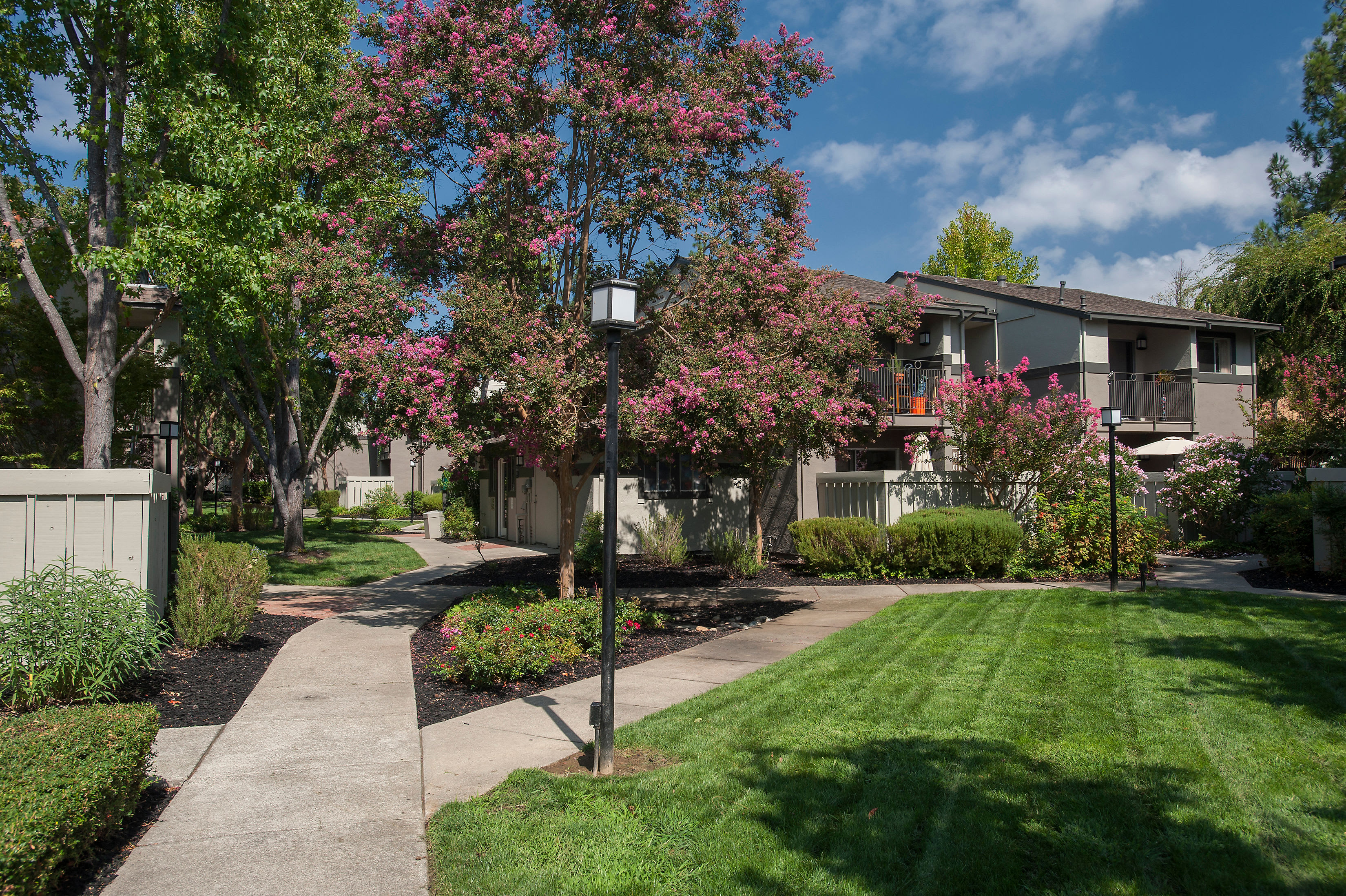 Serene Courtyards at Valley Ridge Apartment Homes in Martinez, California