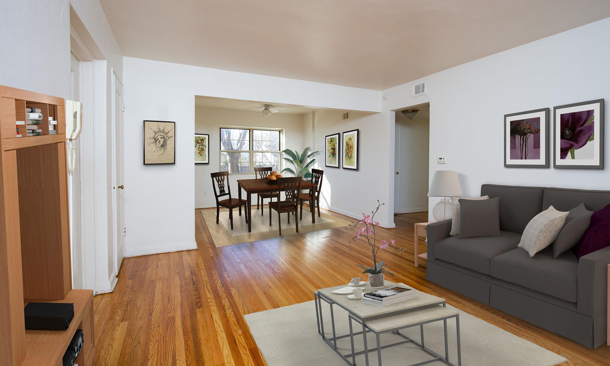 Living area Rochester, New York